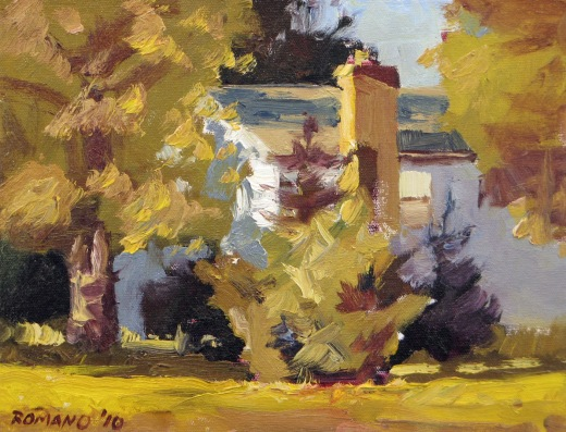 Old House 9x12 oil on canvas